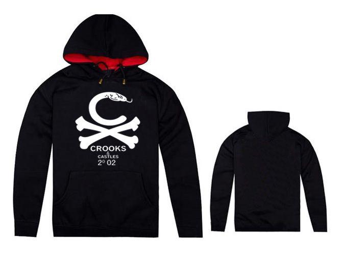 Hip Hop Hoodie for man's women's Autumn Winter cotton sweatshirts Fashion Crooks and Castles Hoody MEN Hoodie