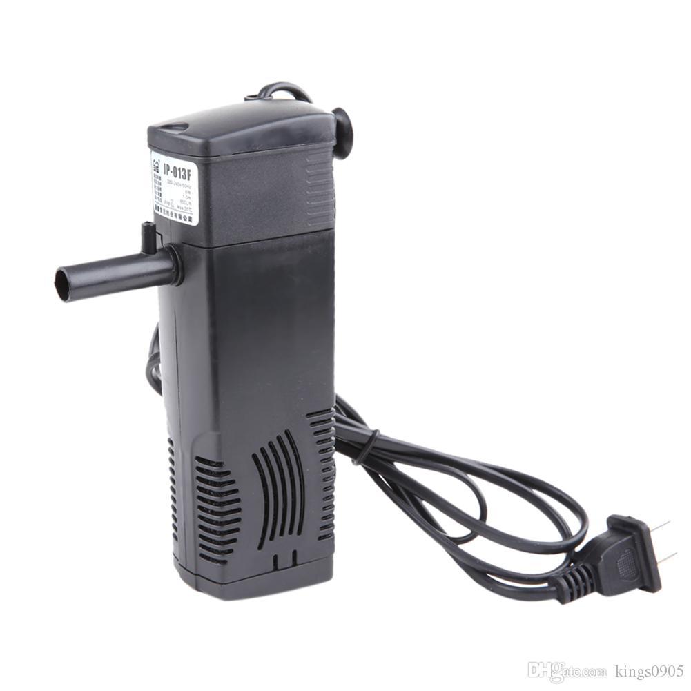 3W 8W 16W Aquarium Filtre interne pour aquarium submersible avec Bar Spray Aquarium pompe de filtration 300L / 600L / 800L / h