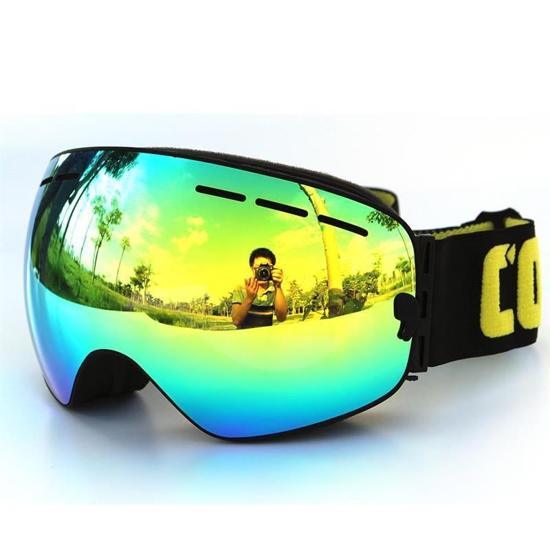 145fd254e3b 2019 2017 New Ski Goggles Double Layers Anti Fog Big Ski Mask UV400 Glasses  Skiing Men Women Snow Snowboard Goggles L HWPS04 From Welikes