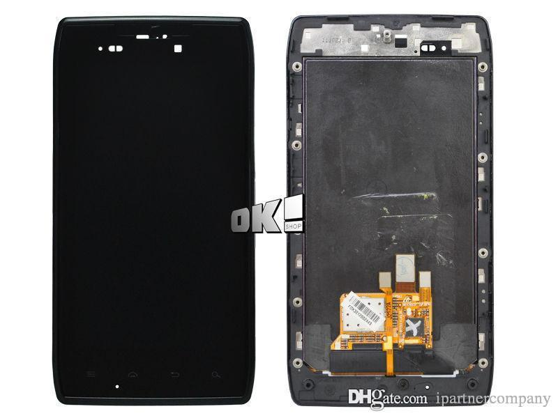 Per Motorola Droid RAZR XT910 XT912 originale nuovo schermo LCD Touch Screen Digitizer Assembly con cornice