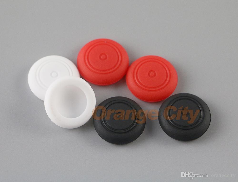 Silikon-Daumen-Analog-Sticks Caps Griffe für Switch NS NX JoyCon Controller-Abdeckung Spiel Zubehör