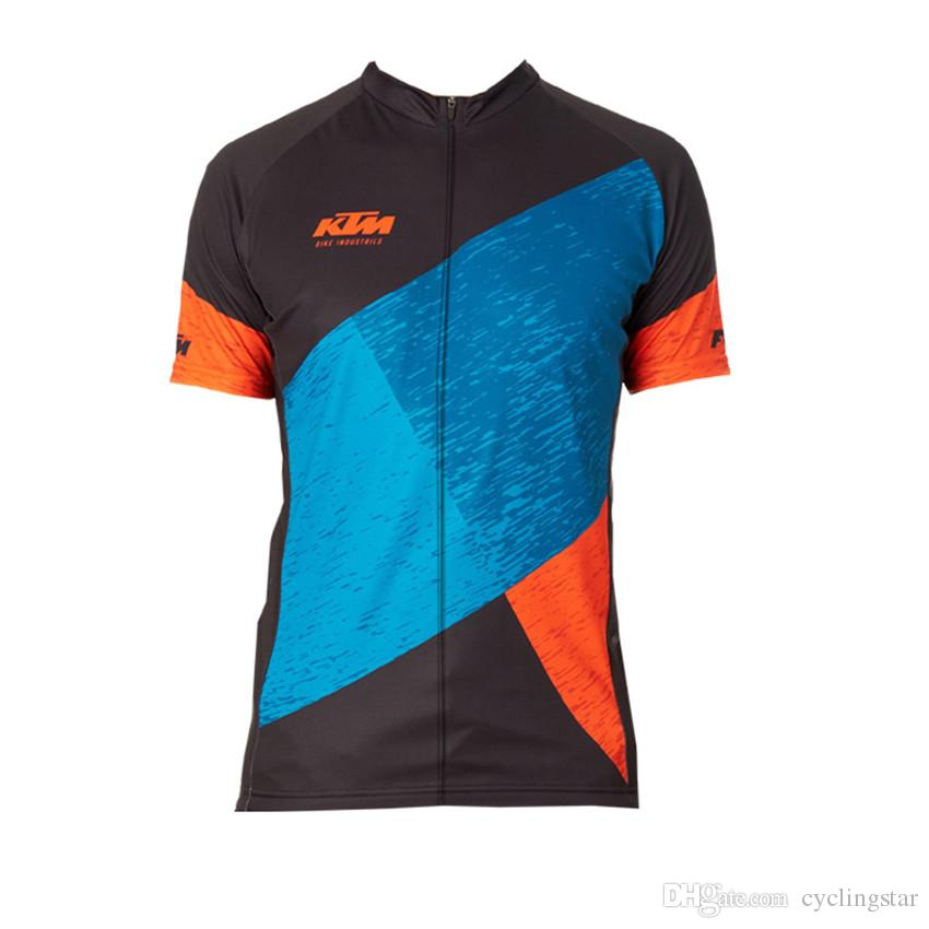 e6271204d Ktm Pro Team Cycling Clothing Breathable MTB Bicycle Cycling Jersey Ropa  Ciclismo 100% Polyester Men Racing Bike Short Sleeves Shirt B2704 Mens T  Shirts ...