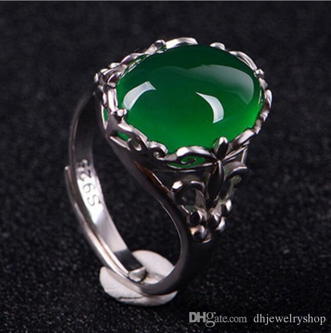 Grosshandel Frauen Naturliche Grune Smaragd Oval Diamant