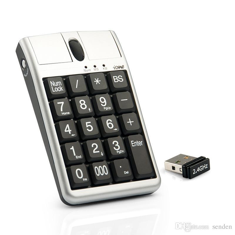 2 in 1 Ione Scorpius N4 tastiere USB Mouse ottico, tastiera numerica cablata 19 con ruota di scorrimento del mouse la voce rapida di dati USB Mouse da tastiera USB