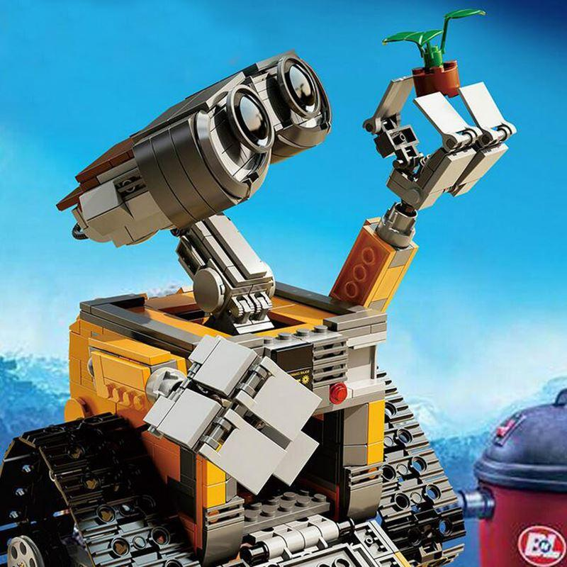 2018 16003 Idea Robot WALL E Building Blocks Figures Bricks Toys For Children Birthday Gifts 2017 Compatible From Barota 3414