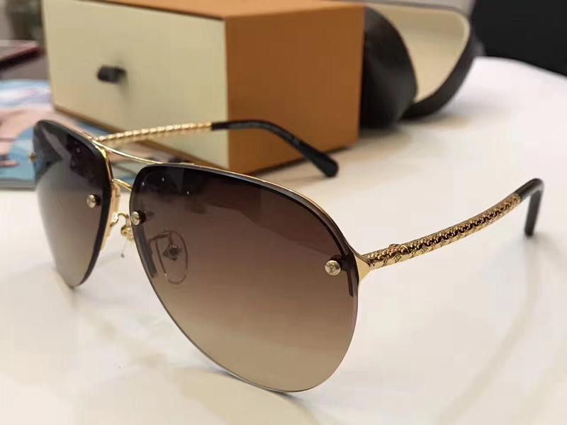 c001e5aefabbc 0597 Sunglasses Men Designer Fashion Oval Sunglasses Z0597 UV Protection  Lens Coating Mirror Lens Frameless Color Plated Frame Come With Box Tifosi  ...