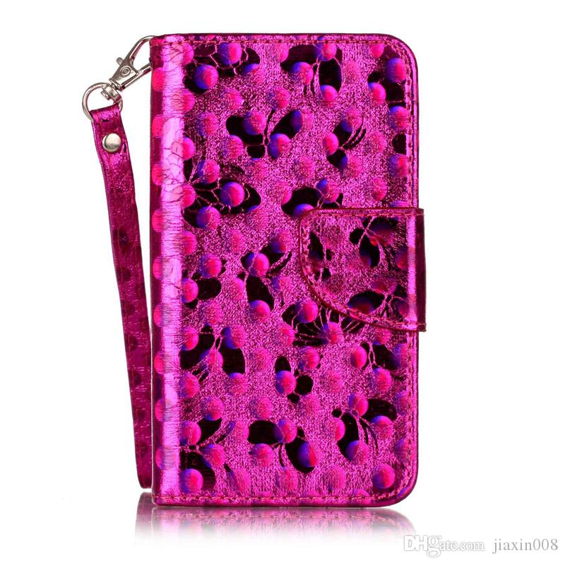 Fashion PU Leather Case For fundas Samsung Galaxy J120 J1 2016 Cover Phone Bag Laser Carving Butterfly Wallet Stand Phone Case