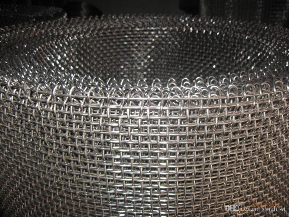 Großhandel Herstellung 2 Mesh Woven Wire Mesh Hochwertige Edelstahl ...