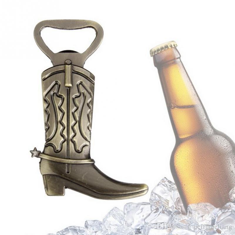 Abrebotellas creativo Hitched Cowboy Boot Western Birthday boda nupcial favores y regalos partido herramienta linda