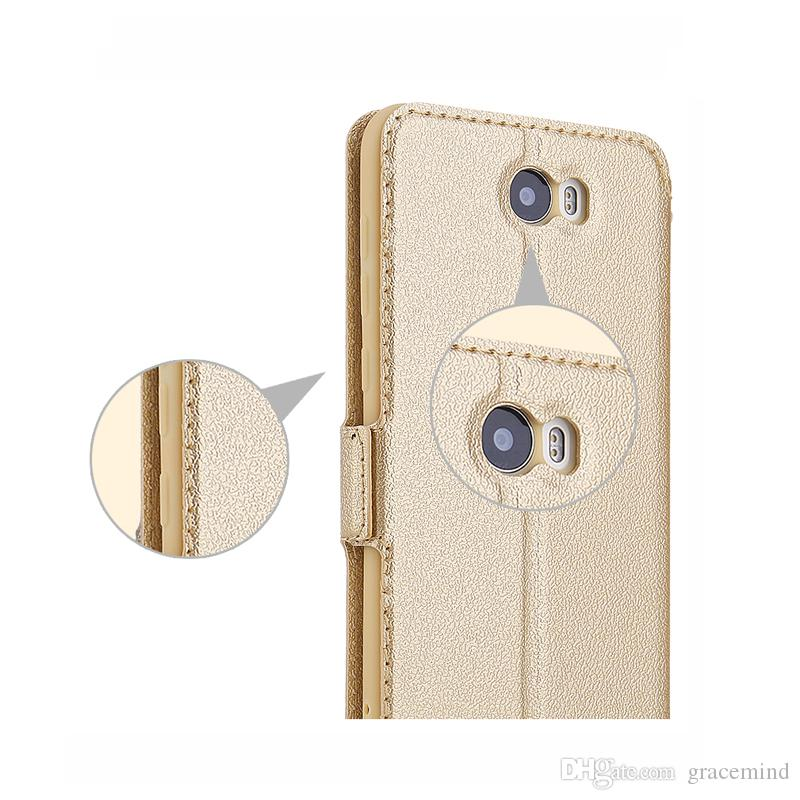 Window Luxury Leather case for Huawei Nova 2 Changxiang 6X Flip Stand Soft Cover Phone Bag Shell