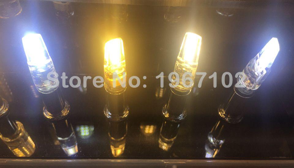 G9 LED COB Lamp 3W 6W LED G9 Bulb Mini AC 220V 240V G9 LED Light Replace Halogen Chandelier Lamp for home decoration