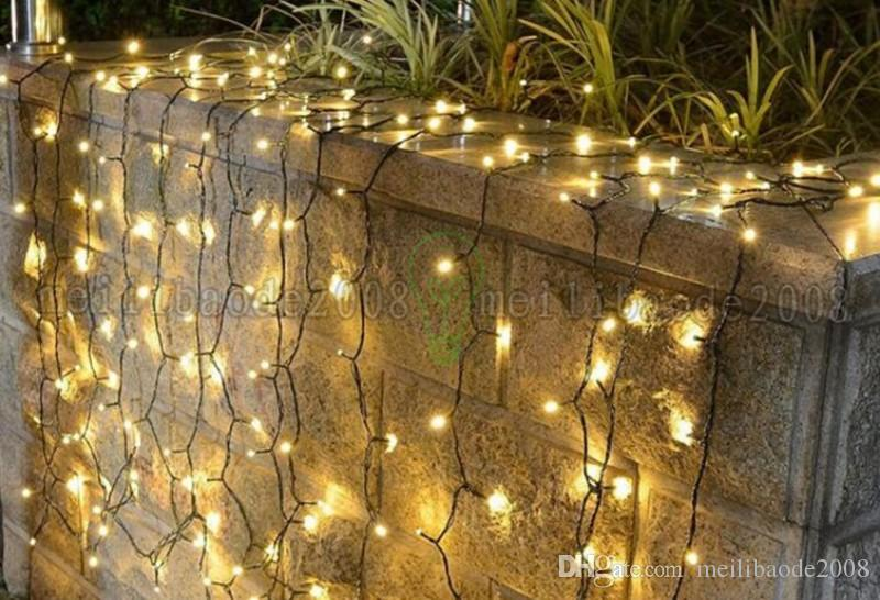 10m Led Solar String lights 39FT 100 LEDS Christmas Tree Party Decoration lamp for Outdoor Patio Yard Lawn Garden Landscape Holiday Ligh MYY