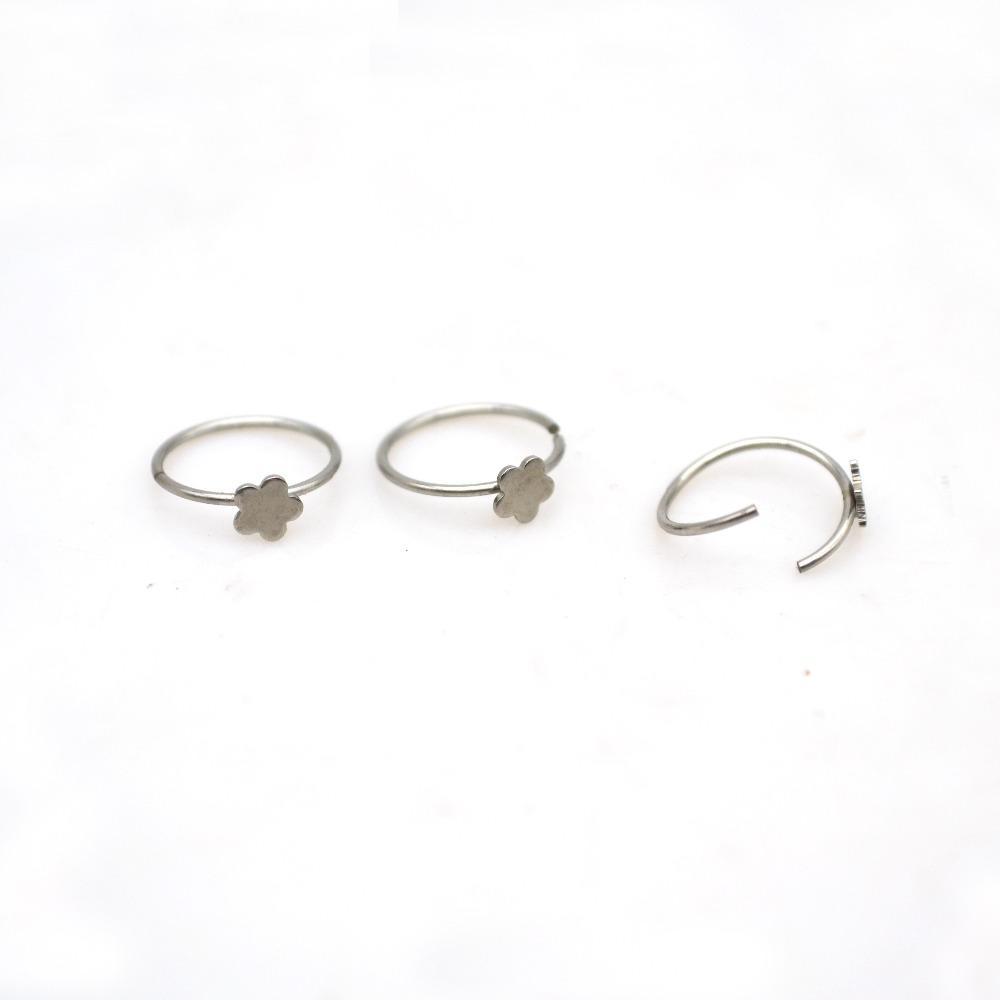 새로운 도착 무료 배송 Nostril Nose Ring Nose prucing Nose Studs with diamond /