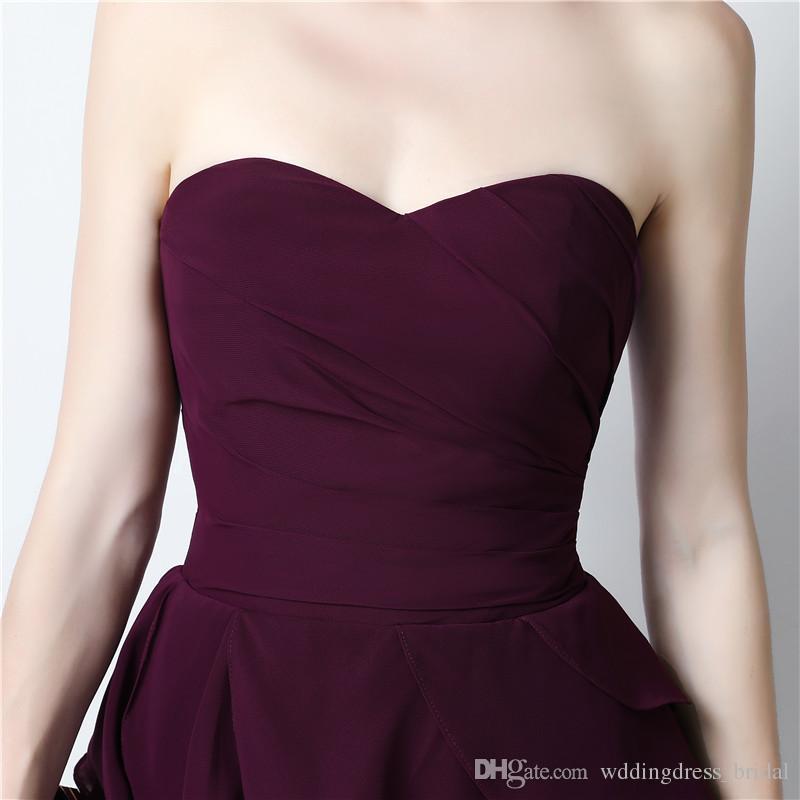 Платье невесты Vestidos De Madrinha De Casamento 2019 дешевые короткие платья невесты элегантные платья для гостей свадьбы