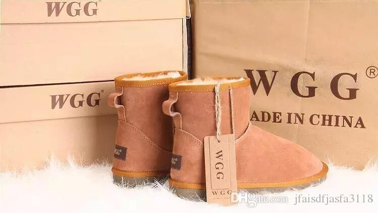High Quality 2017 new Women's Classic tall WGG style snow boots Winter boots Warm With box certificate dust bag Free shipping