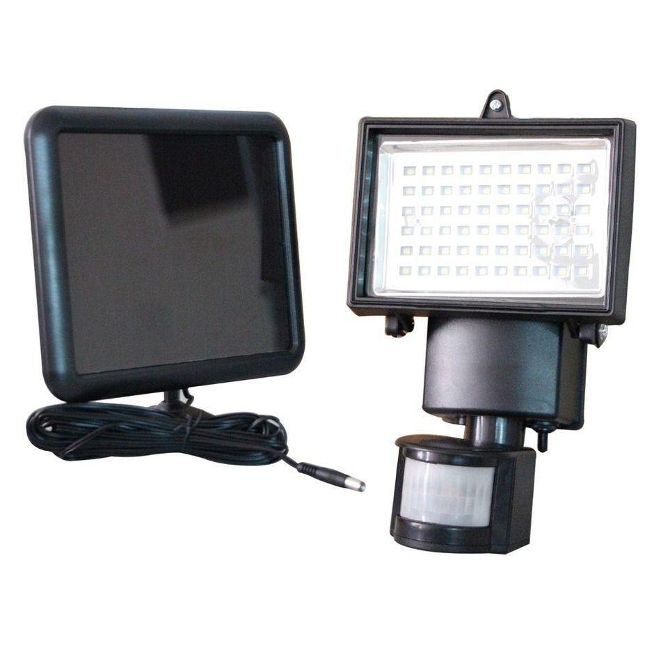 Wholesale- Free Shipping z Motion Sensor Solar Floodlights Spotlights Lamps