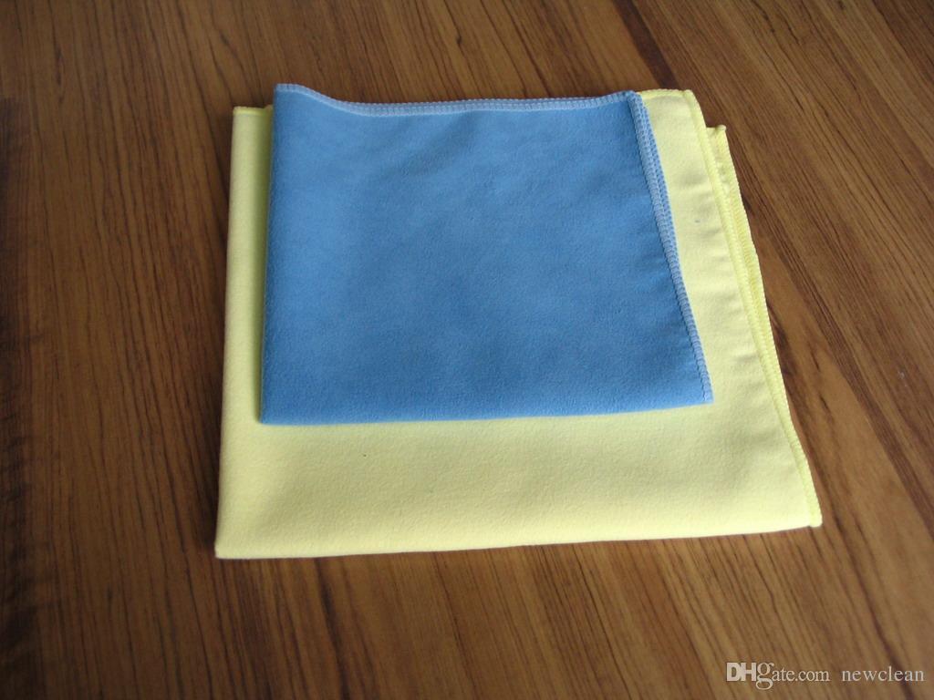 الألياف الدقيقة مايكرو الأقمشة المصنوعة من الألياف جلد الغزال لتنظيف شاشة LCD ممسحة الجلد المدبوغ منشفة زجاج تنظيف منشفة نافذة تنظيف القماش