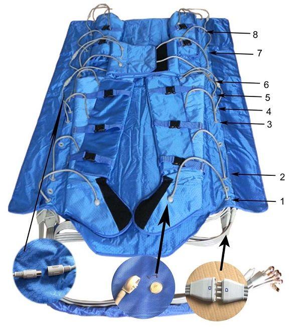 3 in 1 electric muscle stimulator ionic detox foot spa air pressure machine air pressure foot massager