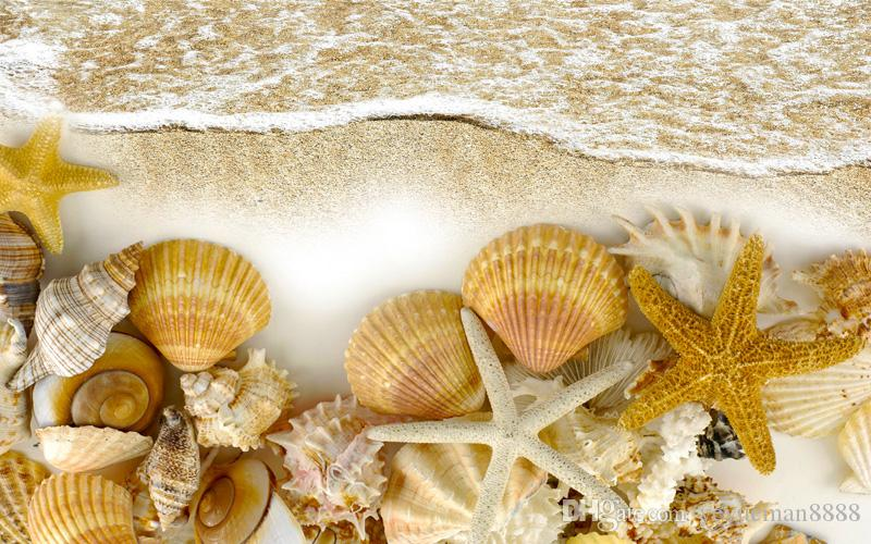 Современная мода Sheer шторы фото проточной воды занавес гостиной Шторы