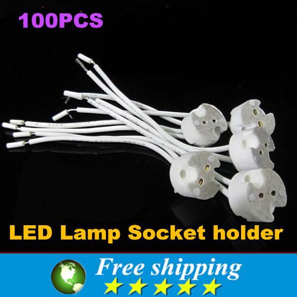Support Mr16 Fil Bi Broches Miniature Led Avec Lampe BaseGu5 Socle Haute De Base Qualité 3 Mr11 Douille 100x Halogène 0OPnwk