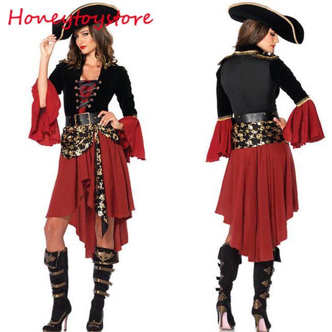 Grosshandel 2017 Piratenkostum Frauen Erwachsene Halloween Karneval