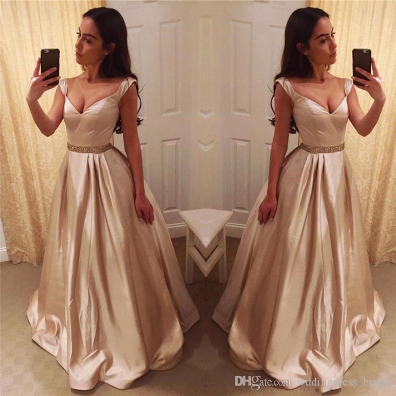 Fotos de vestidos de noche largos 2019