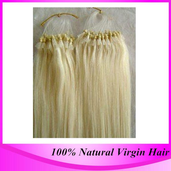 100strandpack micro ring hair extensions 4 dark brown brazilian see larger image pmusecretfo Gallery