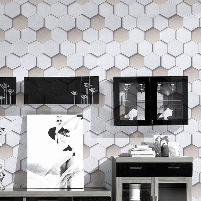 Großhandel PVC 3D Moderne Tapeten Wohnzimmer Schlafzimmer TV ...