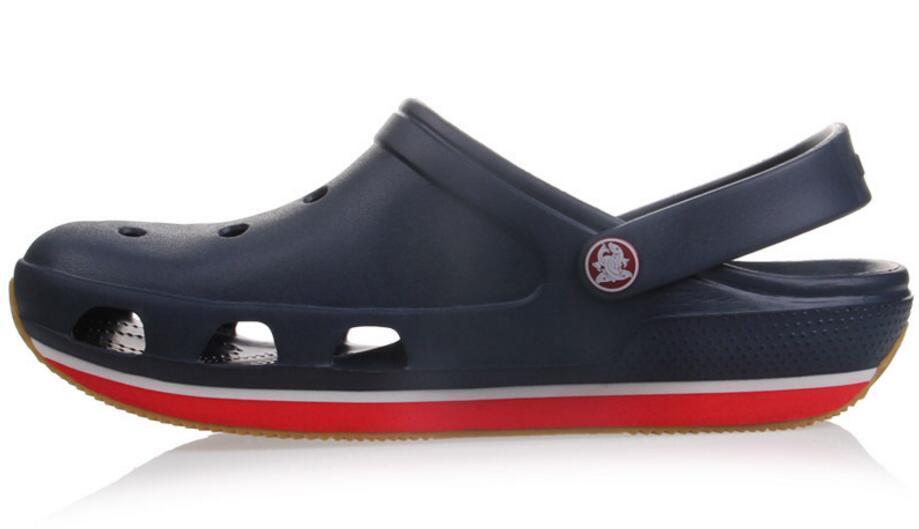 2017 Summer Mens Clogs Beach Slippers For Men Garden Shoes Mule