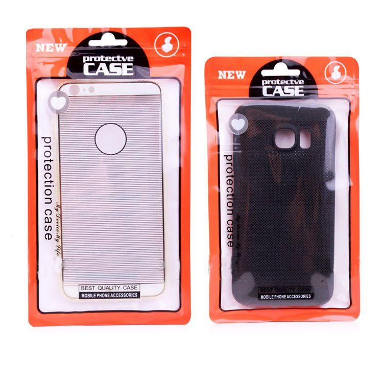 Wasserdichte Großhandelsverpackungs-Tasche für Samsung S8 S8 plus bunte Reißverschluss-Verschluss-Verpackentasche für Telefon-Kasten für iPhone 7