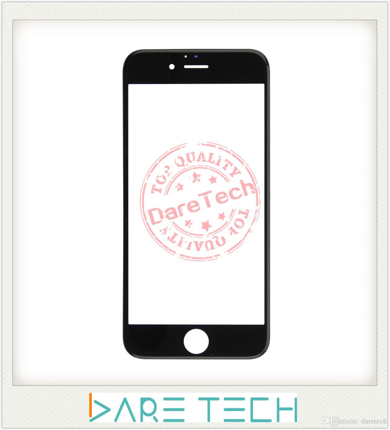 العدسة الزجاجية لللمس الخارجي الأمامي لـ iPhone 6 / 6 + 6S + 7 / 7 + dhl مزيج الألوان