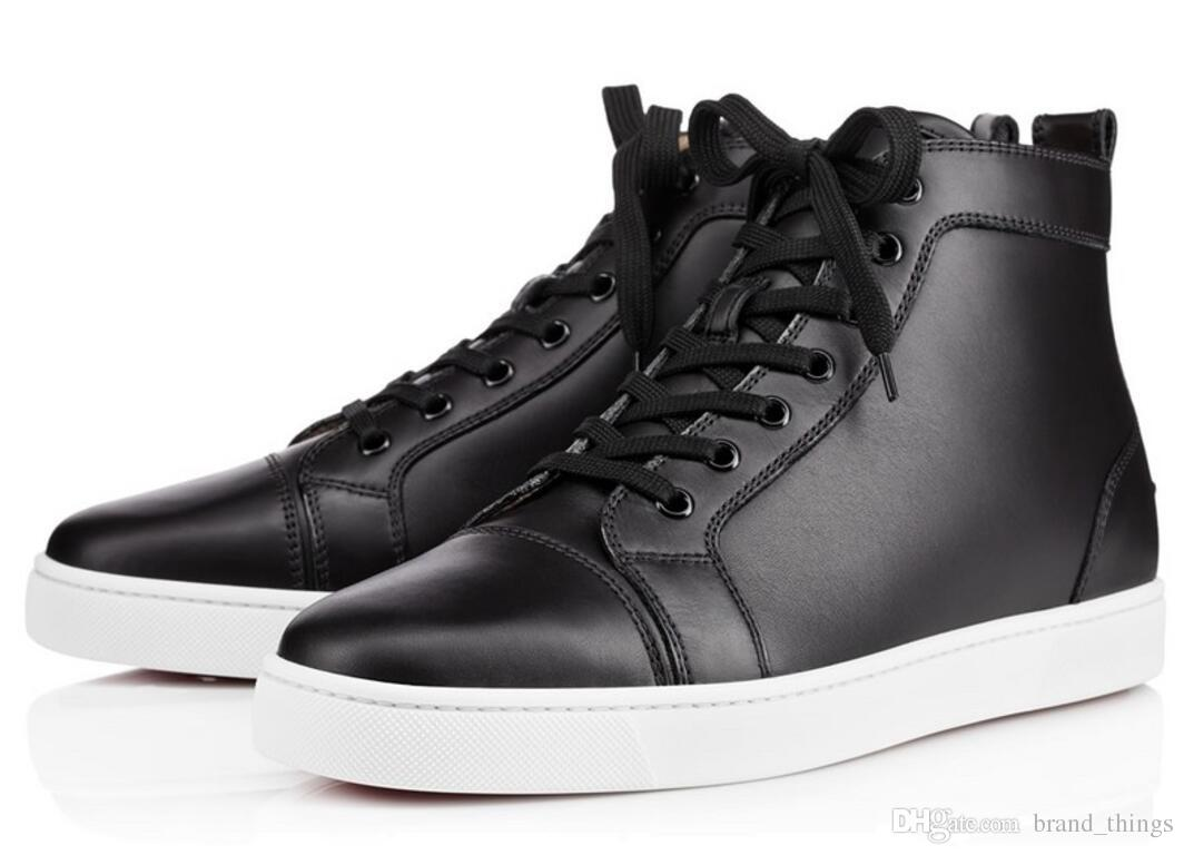 Quality Leather Sneakers Men Lace Up