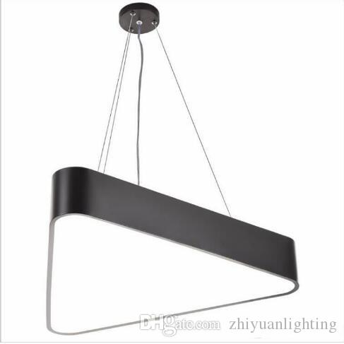Modern lustre luminaire triangle led pendant light office pendant modern lustre luminaire triangle led pendant light office pendant lamp indoor lighting fixture lampadas suspension lamp modern hanging light fixtures aloadofball Choice Image