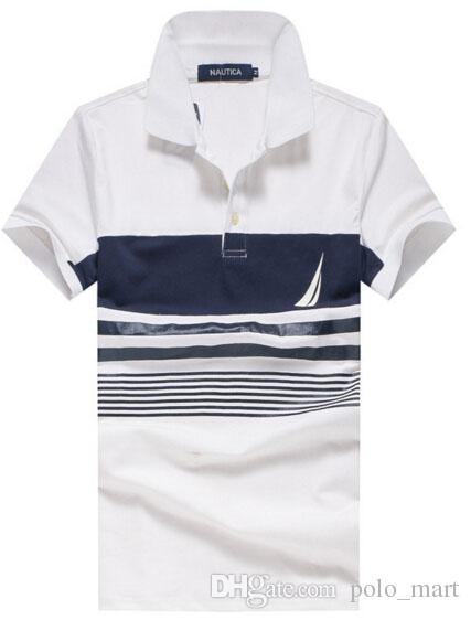 1647e4d85 2019 2017 Nautica Polos Homme Brand Clothing Mens Golf Tennis Shirt Brands  Cotton Short Sleeve Men S Polo Shirts Turn Down Collar From Polo mart
