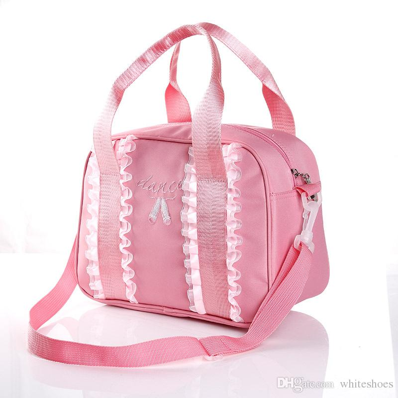 Pink Clutch Bags Fashion Ballet Dancing Crossbody Women Lace Bags For Kids Girl Ladies Handbags With Top Quality