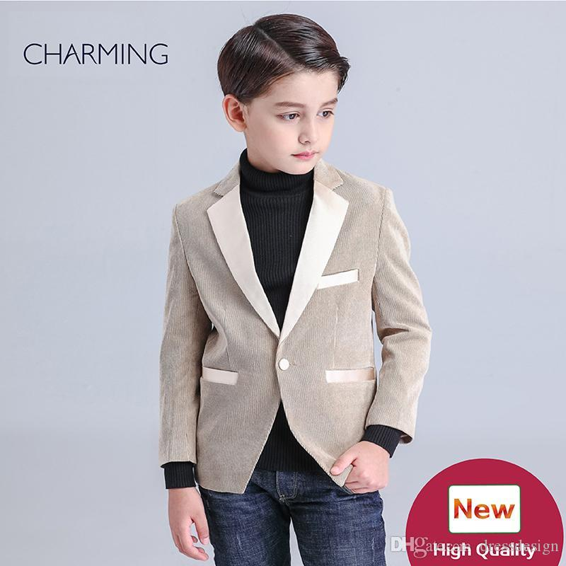 400176725 Brand New Little Boys Suits Long Sleeve Brown Suit Style High Quality  Fabrics Designer Suits For Kids Discount Promotion From China Supplier  Formal Dress ...