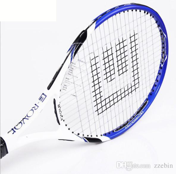 Tennis For Beginners >> 2019 Genuine Set Of Carbon And Aluminum Tennis Racket Beginners