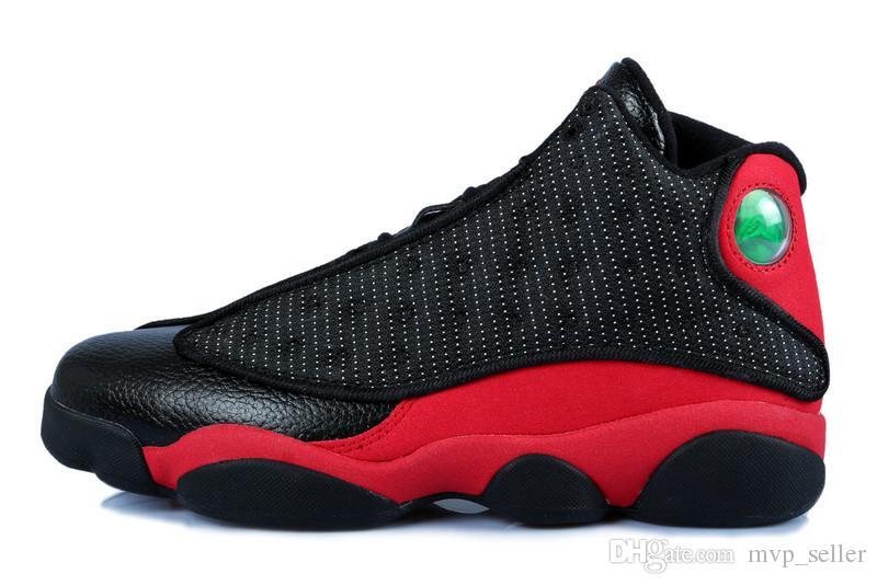Baskets noires pour femmes noires, roses et blanches, chaussures de basket-ball XIII 13