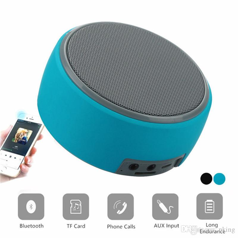 Mini HZ-668 Wireless Bluetooth Speaker Super Bass Loudspeakers Support TF  Card for IOS Android Phone Free Shipping