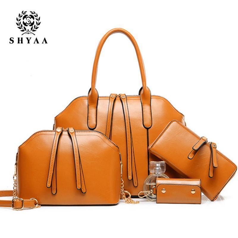 c05c9343cb Nice SHYAA Nice Leather And New Handbags Minimalist Aesthetic Tassel  Portable Shoulder Messenger Bag Women Bags Suit Discount Handbags Big  Handbags From ...