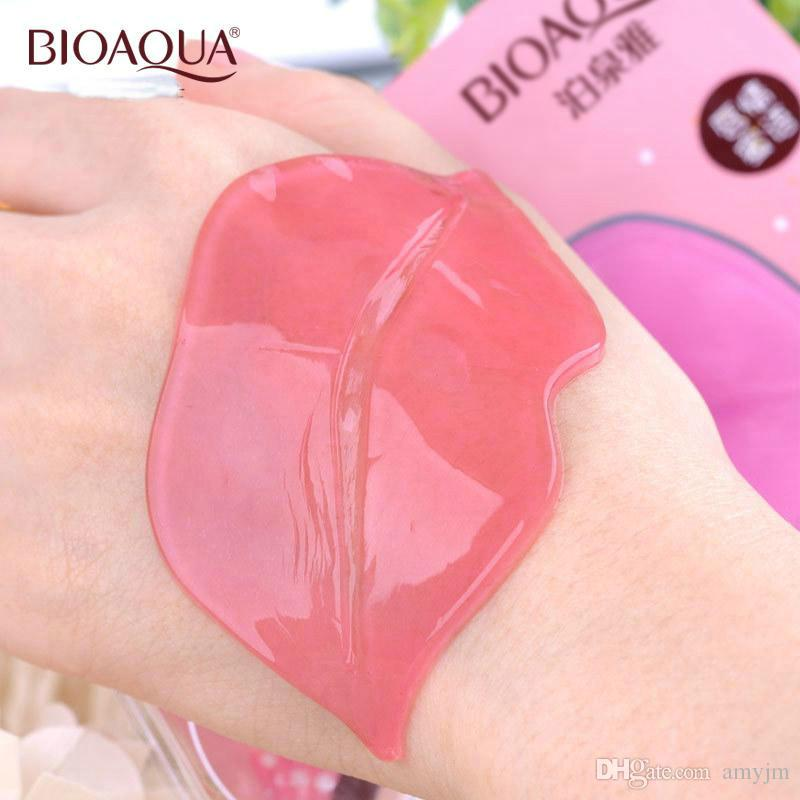 DHL proteina del collagene maschera nutriente labbra labbra marca salute cura della pelle esfoliante idratante pelle morta rimozione anti-aging lipmask