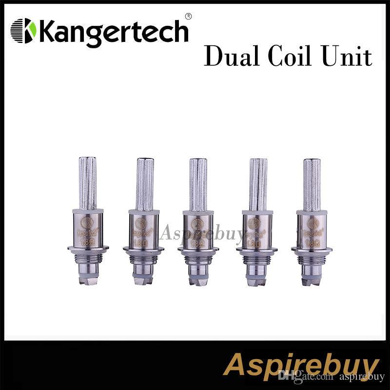 Auténtica bobina dual Kanger para Aerotank / Aerotank Mega / Aerotank Mini / Evod Glass / Protank3 / Mini Protank3 / EMOW
