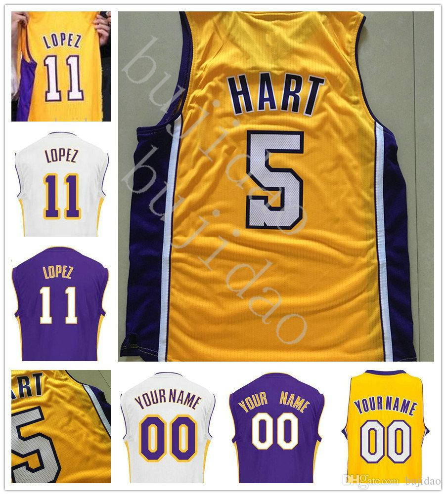 ... 2017 2 Lonzo Ball Basketball 11 Brook Lopez Jersey 5 Josh Hart 0 Kyle  Kuzma 31 Adidas NBA Brooklyn ... 50848ac14