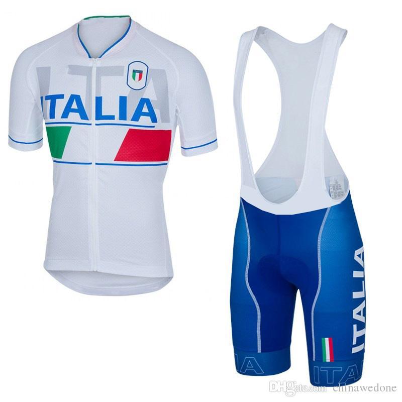 Completi Da Ciclismo In Offerta 2016 Pro Team Italia Maglie Ciclismo Ropa  Ciclismo   Traspirante Mens Bicicletta Estate Abbigliamento Da Ciclismo    Quick ... 2ea7591ba7d