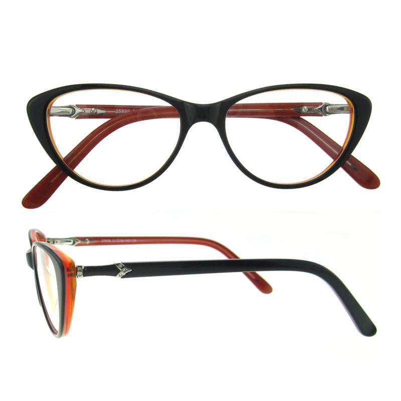 Großhandel Frauen Brillen Rahmen Mode Cat Eye Klare Linse Damen ...
