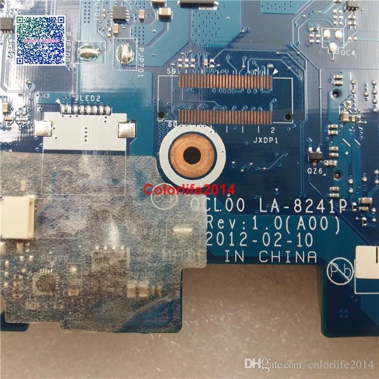 LA-8241P RDH49 para placa madre Dell V3560 Vostro 3560 con tarjeta gráfica discreta Mainboard probado Funciona perfecto