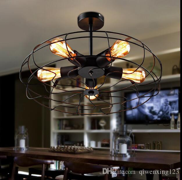 Style Loft Edison Retro Industrial Ceiling Light Fixtures Simple
