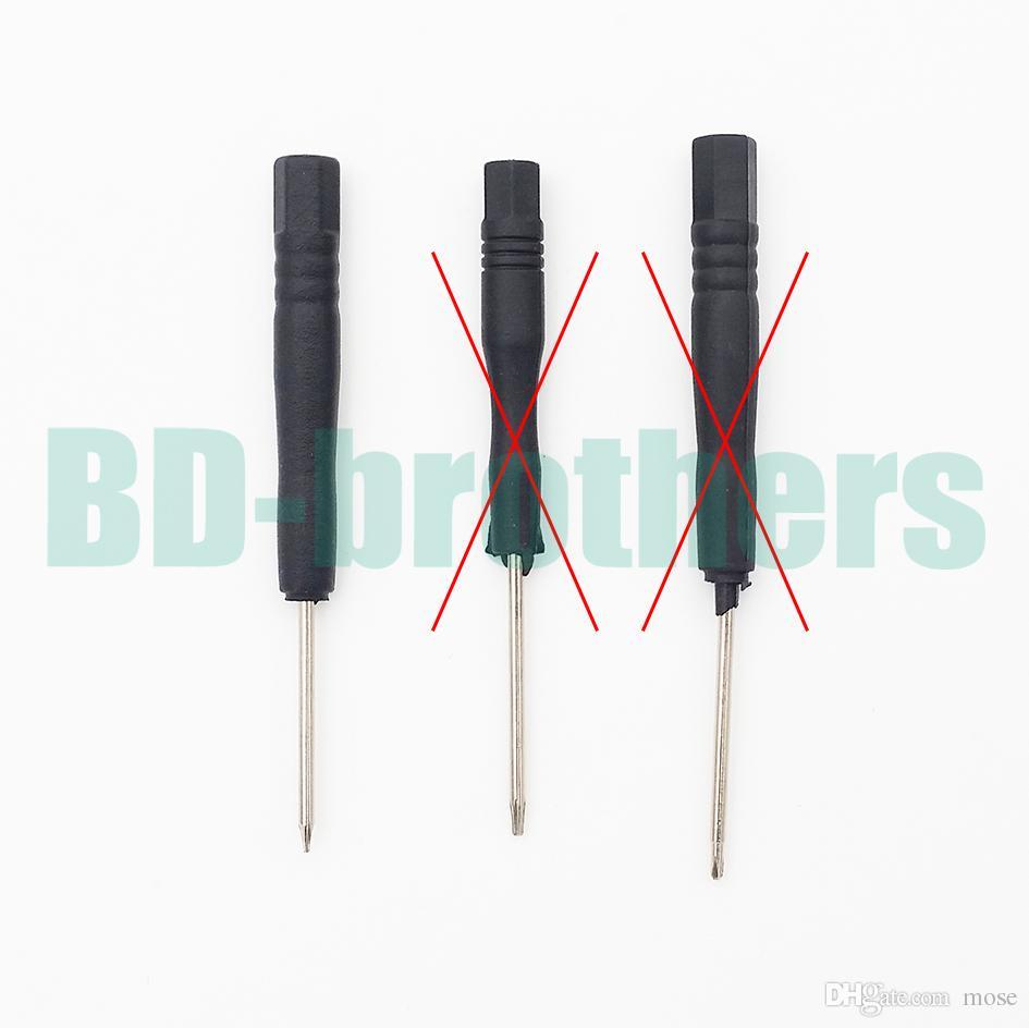 9 in 1 Reparatur-Reparatur-Pry-Kit-Eröffnungswerkzeug-Kit mit 5-Punkt-Star Pefinent-Schraubendreher für iPhone 4G 4S 5G 5S 3G 6 6PLUS 6S / LOS