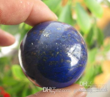 Wholesale NATURAL Lapis Lazuli crystal Healing SPHERE BALL 50mm
