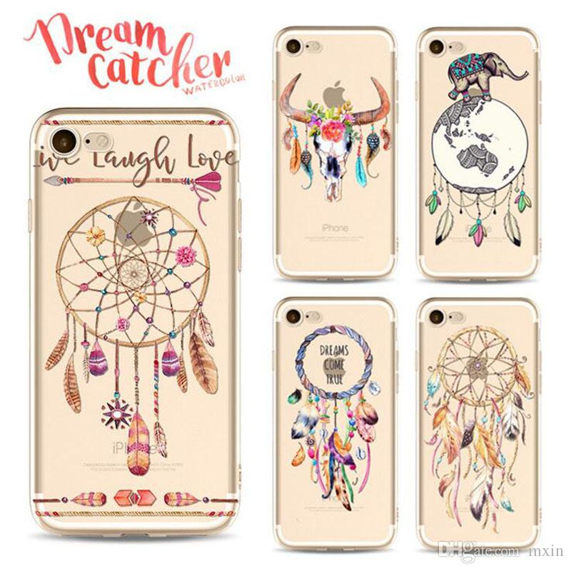superior quality 62bc8 b0132 Transparent Clear Dream Catcher Harry Potter Soft TPU Gel Back Cover Case  For iPhone 5 5S 6 6S 7 8 Plus X iPhone7 iPhone8 iPhoneX